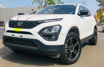 tata harrier with R18 tyres-2