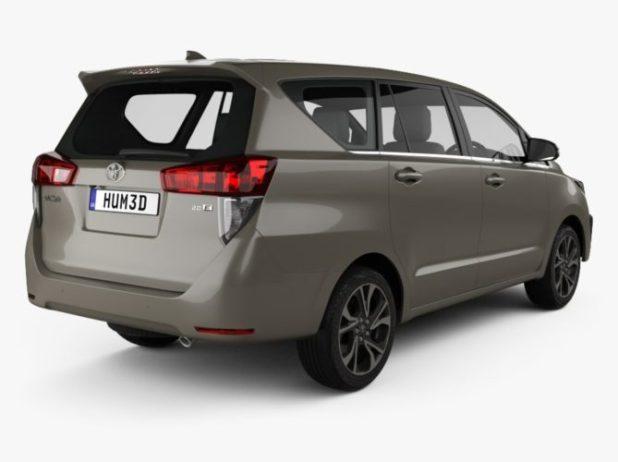 Toyota Innova facelift rear