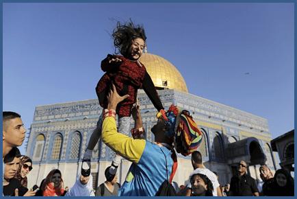 Dabaaldaga Muslimiinta, Qudus Falastiin