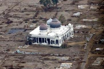 Masjidka ka soo hadhay Sunamidii