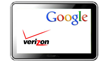 Verizon Google Tablet