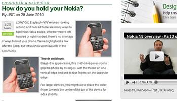Agarre Nokia