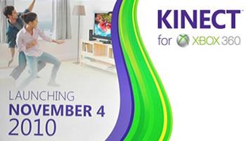 Microsoft Kinect para Xbox
