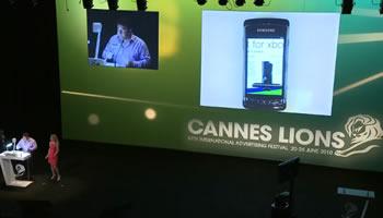 Windows Phone 7 en Cannes Lions