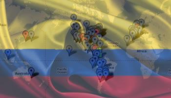 Restaurantes y Servicio Colombia en el Mundo