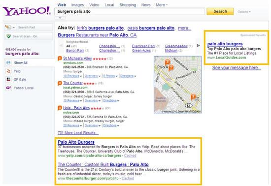 Yahoo con Microsoft Bing