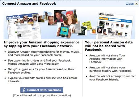 Amazon y Facebook Ecommerce