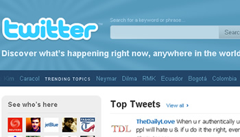 Colombia, Bogota, Ecuador, Trending Topics Twitter