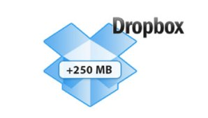Dropbox 250MB gratis0