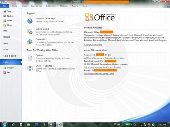 MS Office 2014