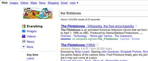 Google Doodle Los Picapiedra
