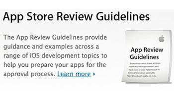 Nuevas Pautas de Apple para el App Store