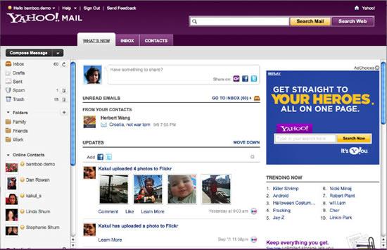 Nuevo Yahoo Mail 2010