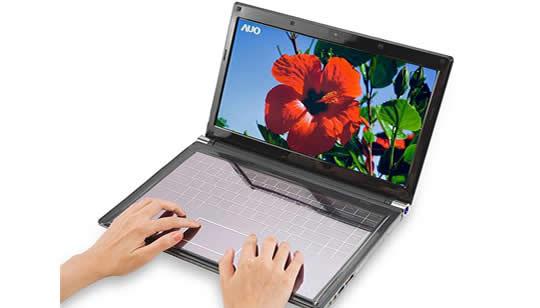 AU Optronics Teclado Solar Tactil para Netbook