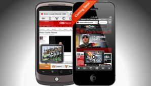 Flash en iPhone e iPad SkyFire