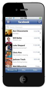 Sistema de Mensajeria de Facebook