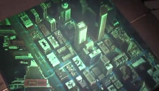Mapas en Hologramas 3D