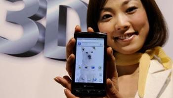 Telefono Celular 3D de HTC con Google Android