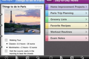 Microsoft OneNote para iPhone