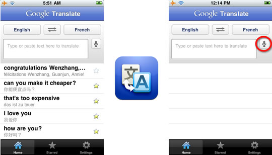 Google Translate para iPhone, iPad e iPod Touch