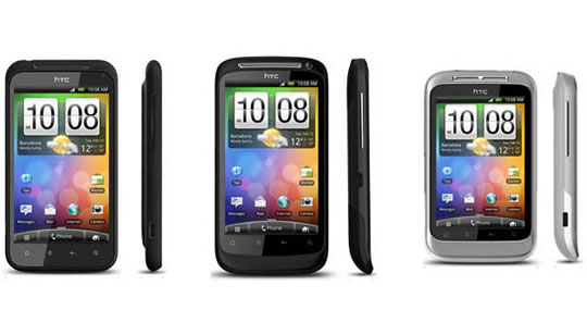 HTC Desire S, Incredible S y Wildfire S