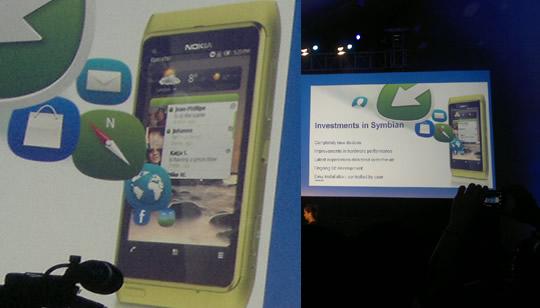 Nokia Symbian con nuevo interfaz UI