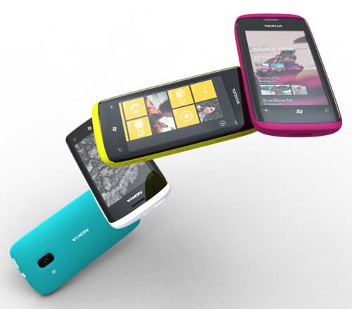 Windows Phone 7 de Nokia