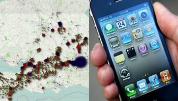 iPhone e iPad tracking