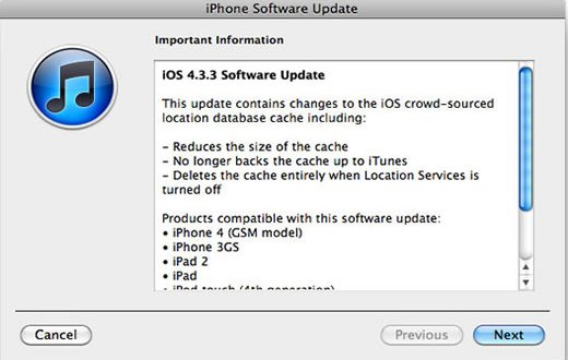Apple iOS 433