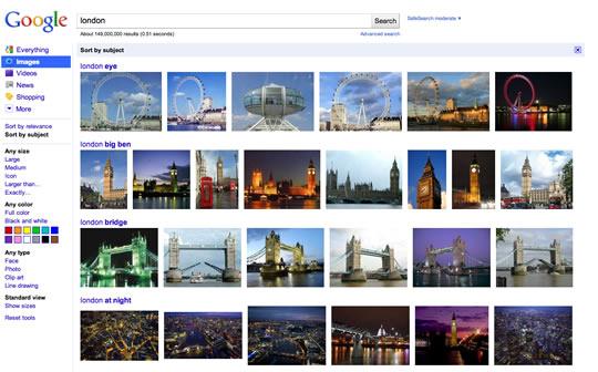 Busqueda de imágenes en Google- Londres