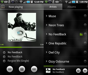 Google Music - No FeedBack
