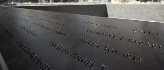 Monumento 9-11 nombres