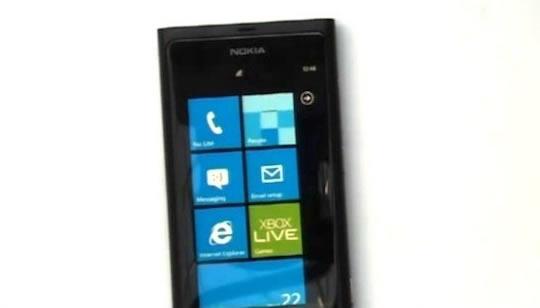 Nokia Sea Ray con Windows Phone 7