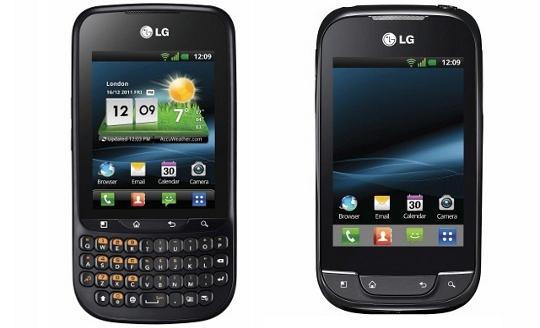 LG Optimus Pro LG Optimus Net