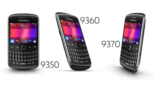 Nuevo BlackBerry Curve - RIM