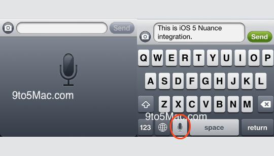 Reconocimiento de Voz Apple iOS 5