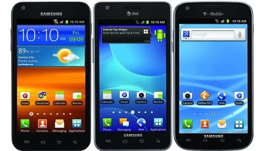 Samsung Galaxy S II Estados Unidos