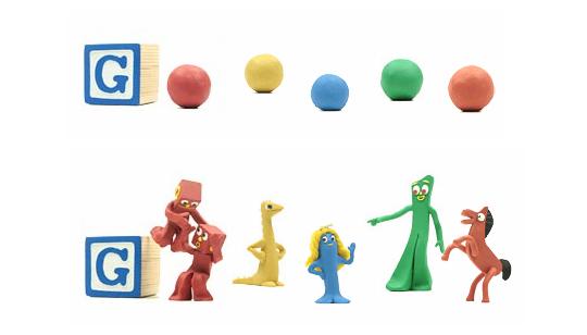 Arthur Art Clockey - Doodle Google Gumby