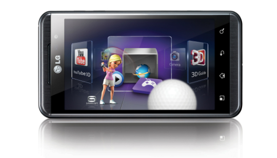 LG Optimus 3D Colombia