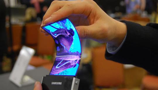 Pantalla flexible Samsung