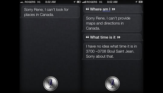Siri en el iPhone4S - Apple