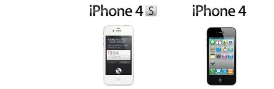 iPhone 4S vs i Phone 4 -Apple