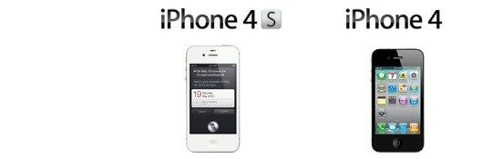 iPhone 4S vs i Phone 4 -Apple