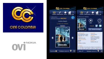 Cine Colombia Nokia App tecnologia