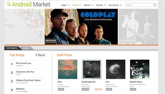 Google Music Tienda