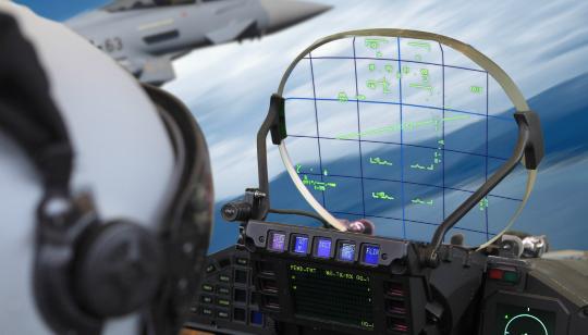 Tecnologia HUD Aviones