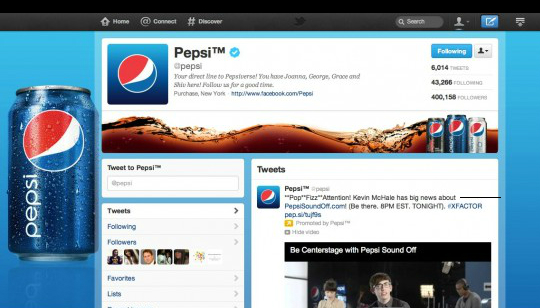 Paginas de Twitter para Empresas