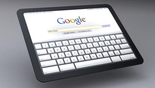 Tablet oficial de Google