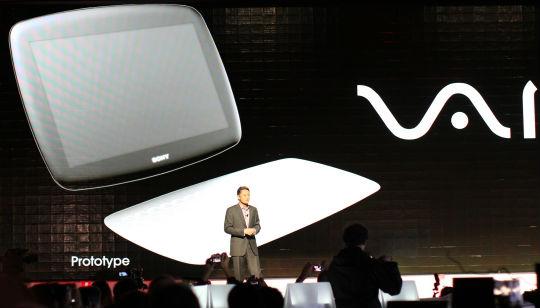 Prototipo Sony Tablet