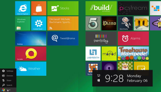 Windows 8 Boton de Inicio